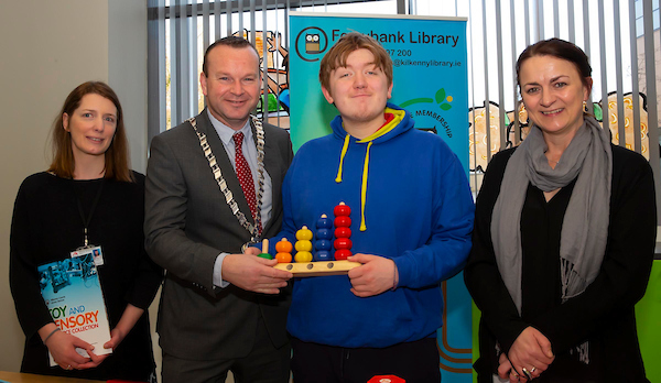 launch of a new Toy and Sensory Resource collection at Ferrybank Library2