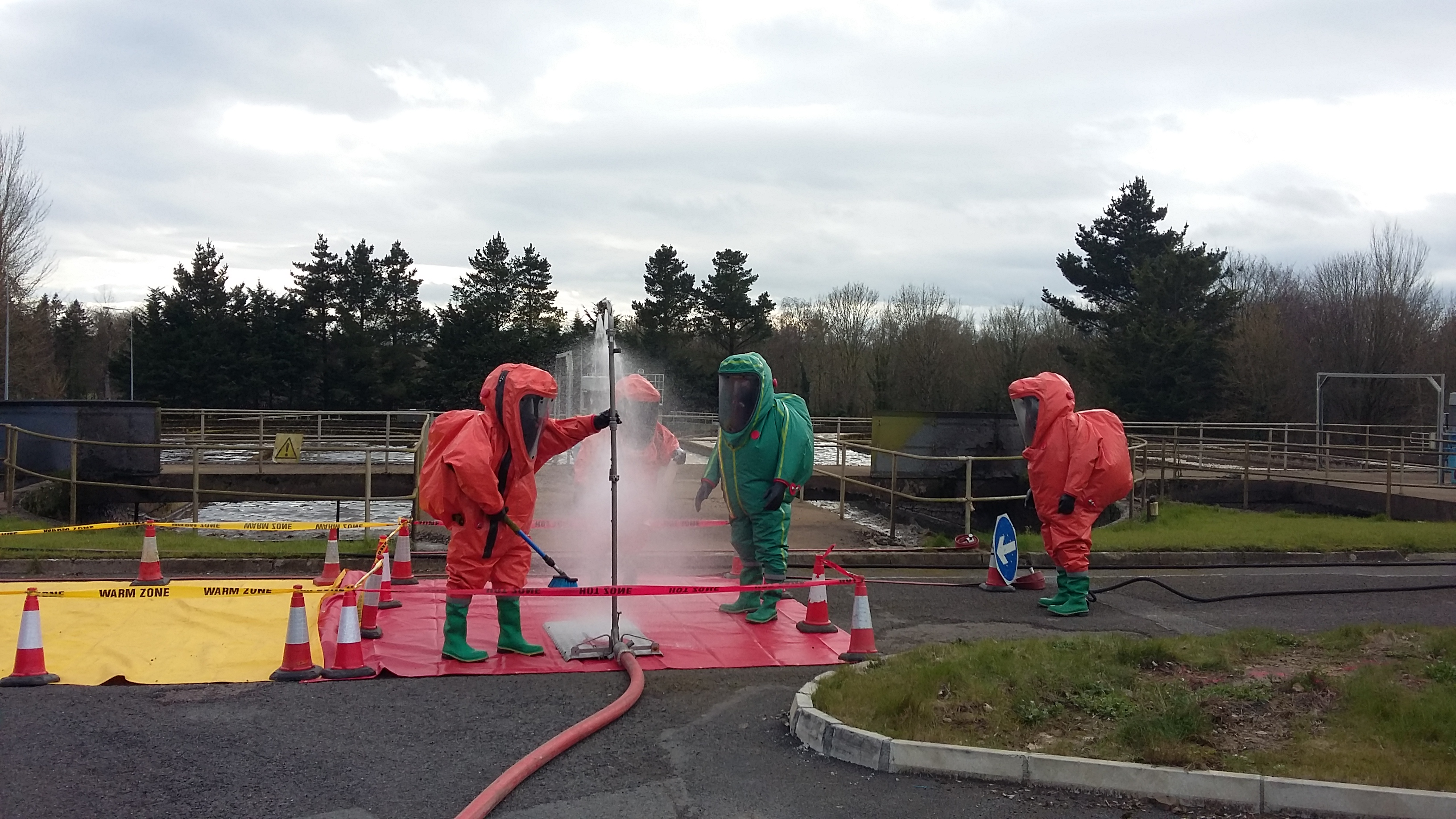 Hazmat CPC Wearers Training 2016