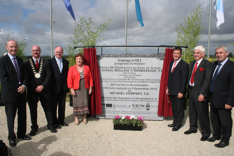 Official Opening Plaque M9-M10
